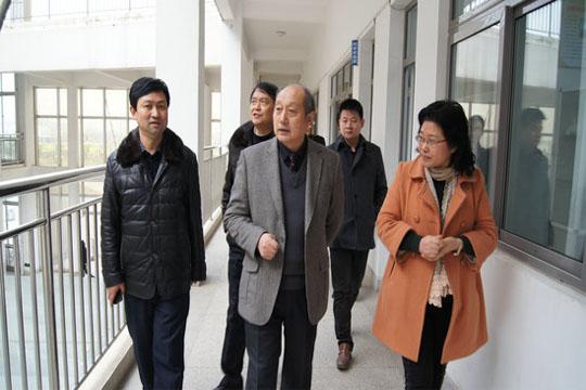 滁州市文明办调研指导全椒县少年宫建设工作