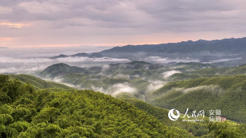 广德笄山风景区