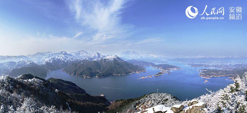 花亭湖风景名胜区位於安徽省安庆市太湖县
