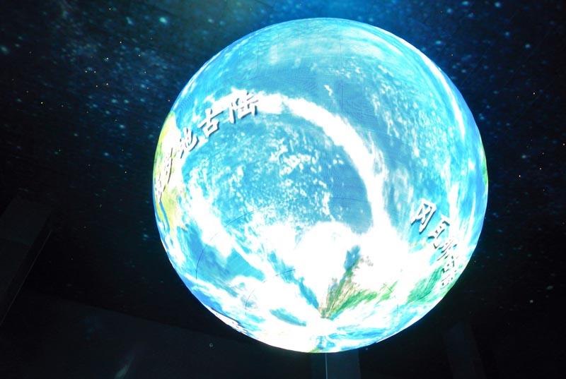 地球厅led地球