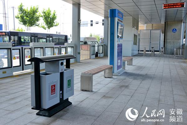 岛式公交站台8月13日