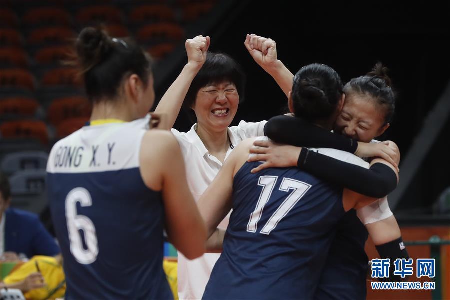 高清:中国女排3:1战胜荷兰队 挺进决赛