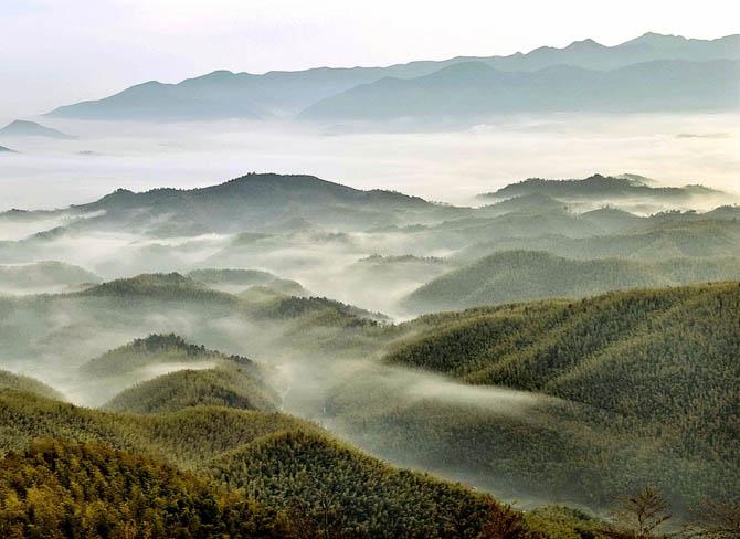 安徽宣城竹海风景区