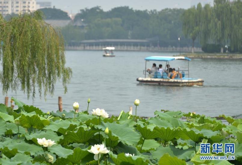 济南大明湖风景区元旦起免费开放--安徽频道--人民网