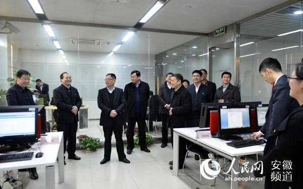 安徽省联社领导看望慰问年终决算一线员工