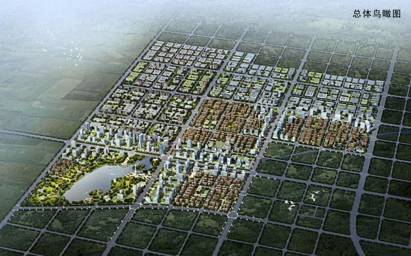 寿县蜀山现代产业园区单元规划图片