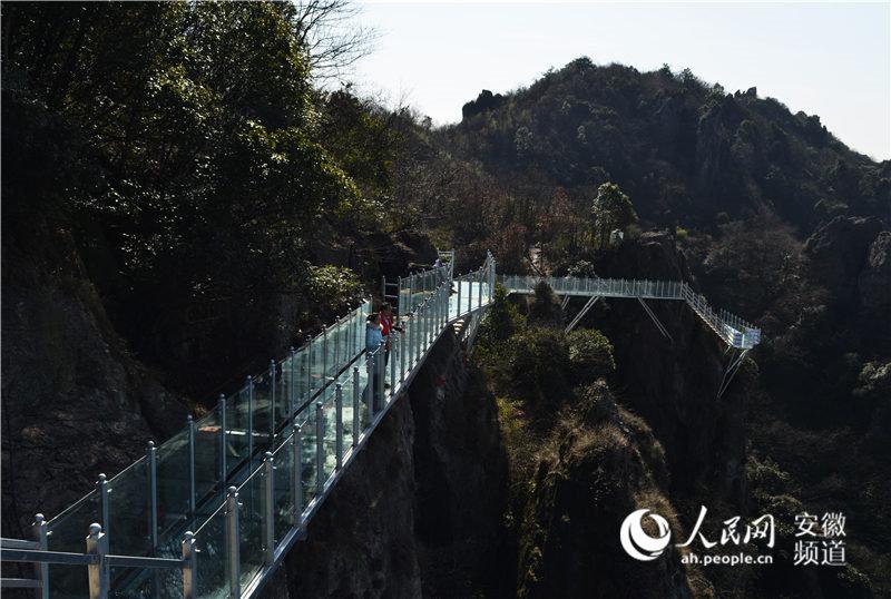 马仁奇峰天梯玻璃栈道竣工验收 将于除夕对外开放