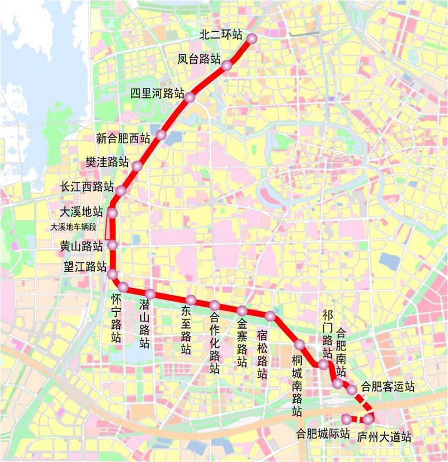 有轨电车规划路线图