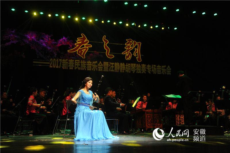 安徽乐团新春民族音乐会昨合肥奏响