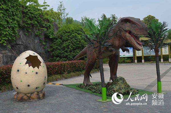 """这个""""五一""""假期 到合肥野生动物园看""""恐龙总动员"""""""