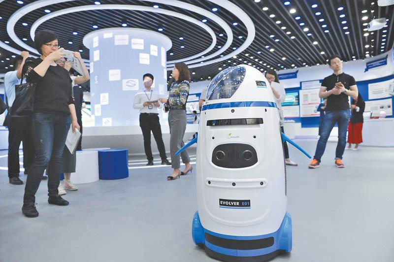 小胖机器人-中国声谷 演示 炫科技