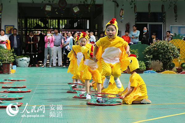 长丰县举办六一民间趣味体育游戏评比 县直机