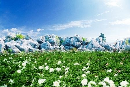 安徽频道 图说天下    丫山风景区位於安徽省芜湖市南陵县何湾镇,处