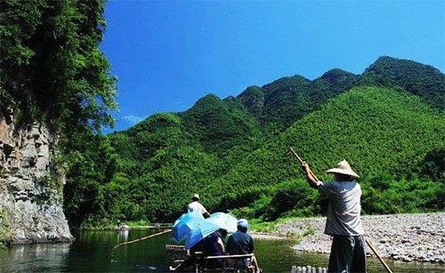安徽频道 图说天下    月亮湾风景区位于离泾县县城18公里处的蔡村镇