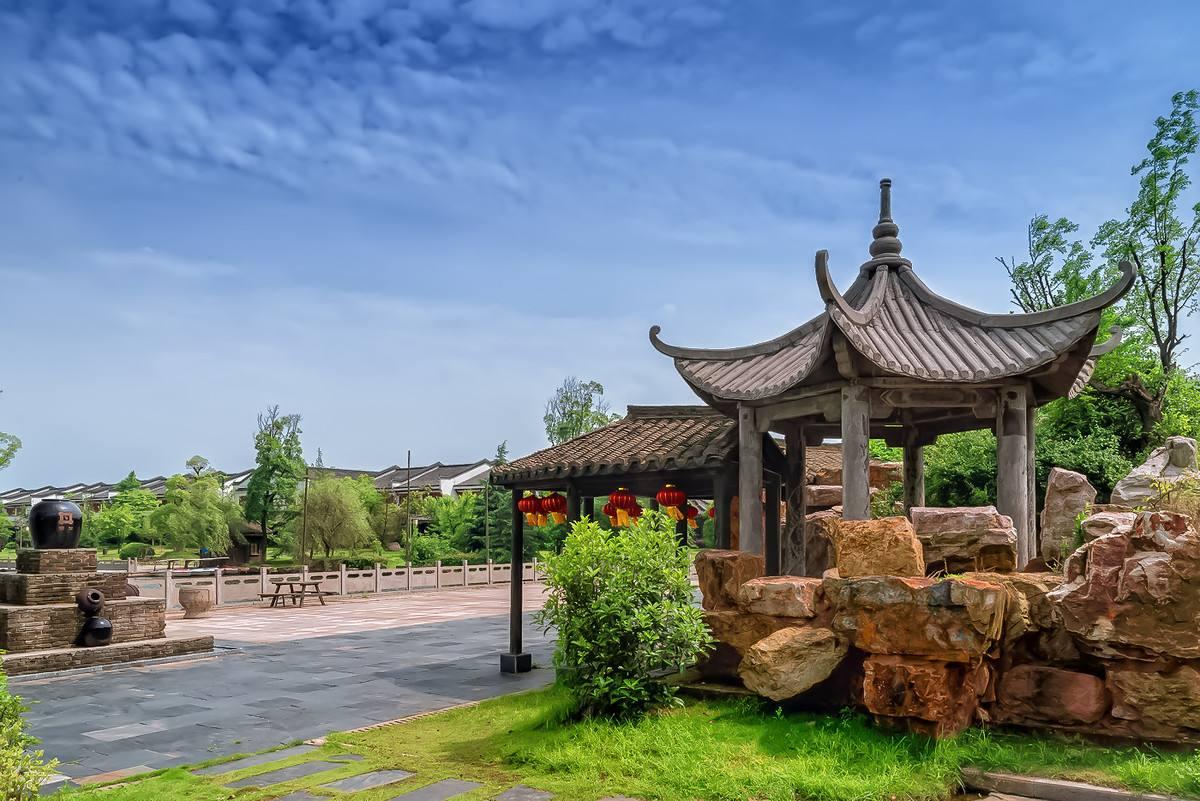 安徽频道 图说天下    国家4a级旅游景区——池州杏花村,位于安徽池州