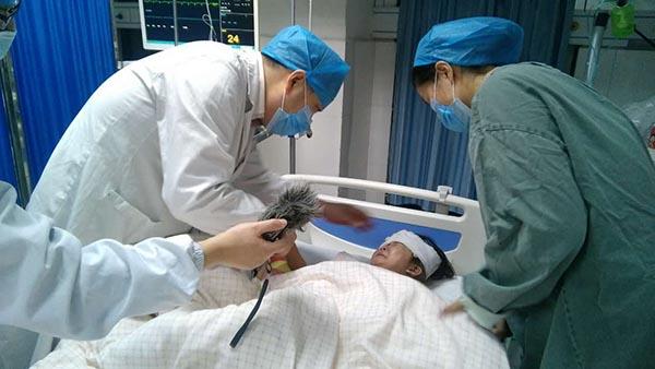 安徽省立医院颍上县人民医院全力救治滁新高速