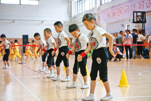 拾忆民间体育游戏共享健体童趣时刻