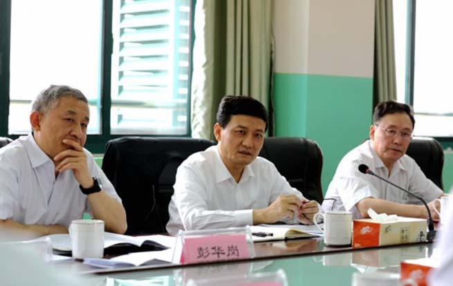 国务院国资委主任肖亚庆来皖调研并主持召开座谈会