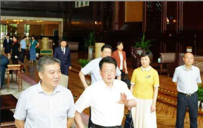 杨光荣副省长一行赴省旅游集团调研指导工作
