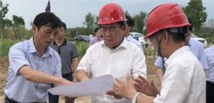 杜延安调度重点项目建设