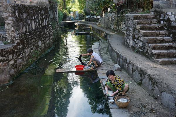 杭州的民俗风景的图片