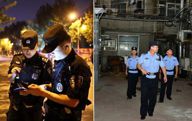 """美丽的城市""""守夜人""""――走近合肥一线巡逻民警"""