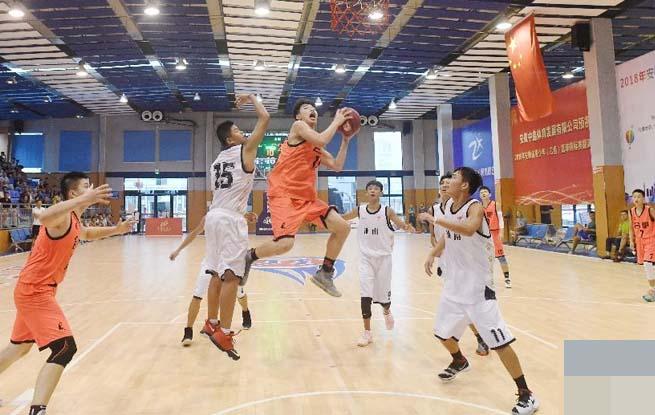 小小追风少年 逐梦篮球赛场