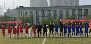 六小荣城参加省青少年城市足球联赛首战告捷