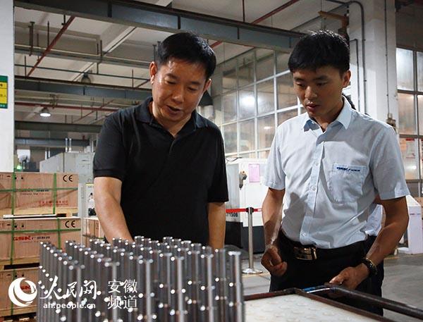 安庆迎江区良好投资环境吸引企业目光客商点赞