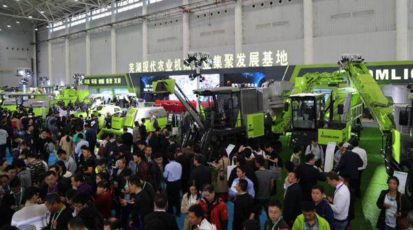 中联重科闪耀2018中国国际农机展
