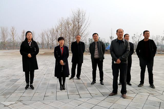 颍上县组织到新蔡县参观考察脱贫攻坚等工作