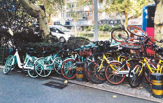 共享单车:想说爱你不容易