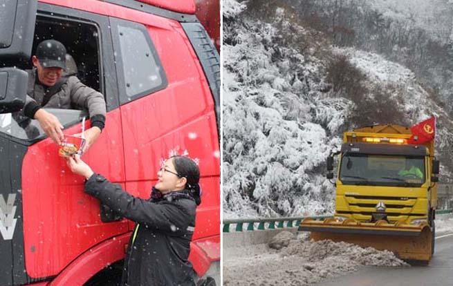 安徽交控集团所辖路段连续作战除雪保通