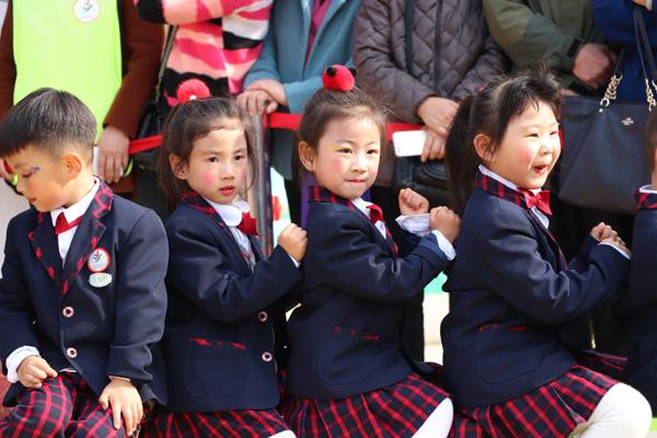 安幼教育集团城市之光分园:阳光早操亮童心活力运动乐童年