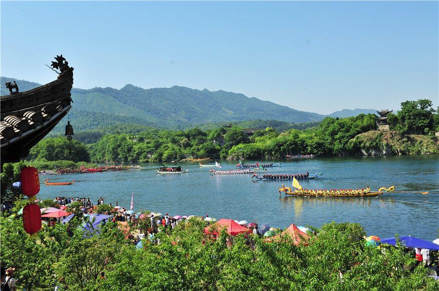 宣城泾县将举办桃花潭龙舟赛民俗文化旅游周活动