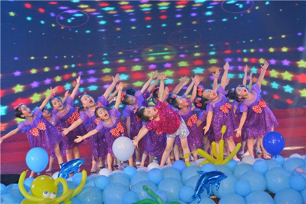安幼教育集团举行第六届艺术节暨2019届大班毕业典礼