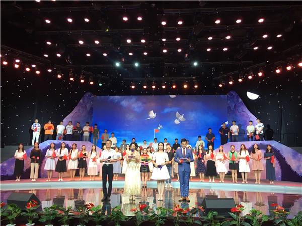 """淮北市""""大家的节日·七夕""""主题活动 6对年轻人牵手成功"""