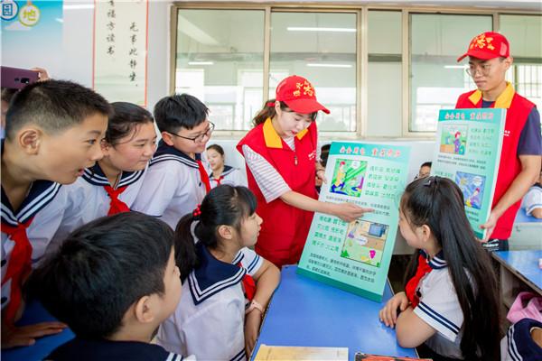 安徽淮北:开学第一课安全用电进校园