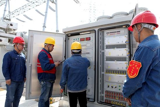 阜阳供电:郑阜高铁邬庄牵引站率先实现双电源供电