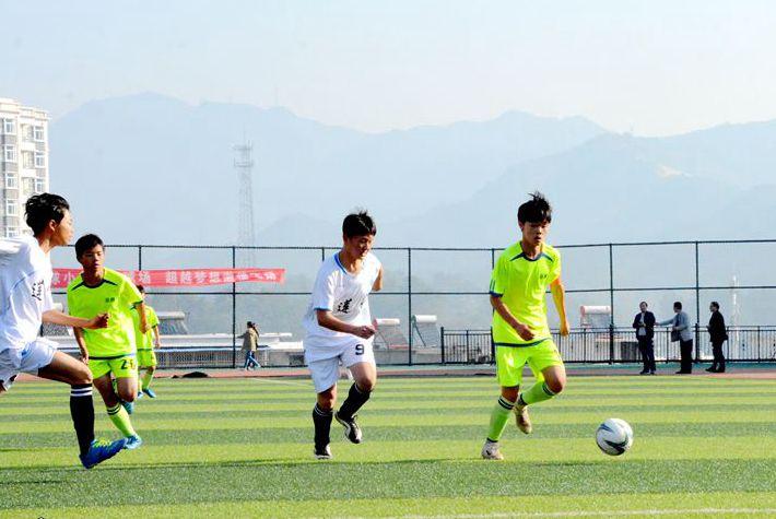 岳西县中学生校园足球联赛开赛