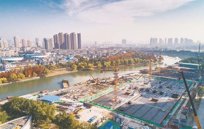 """合肥:建""""大水池""""防初雨污染 调蓄池容量5万立方米"""