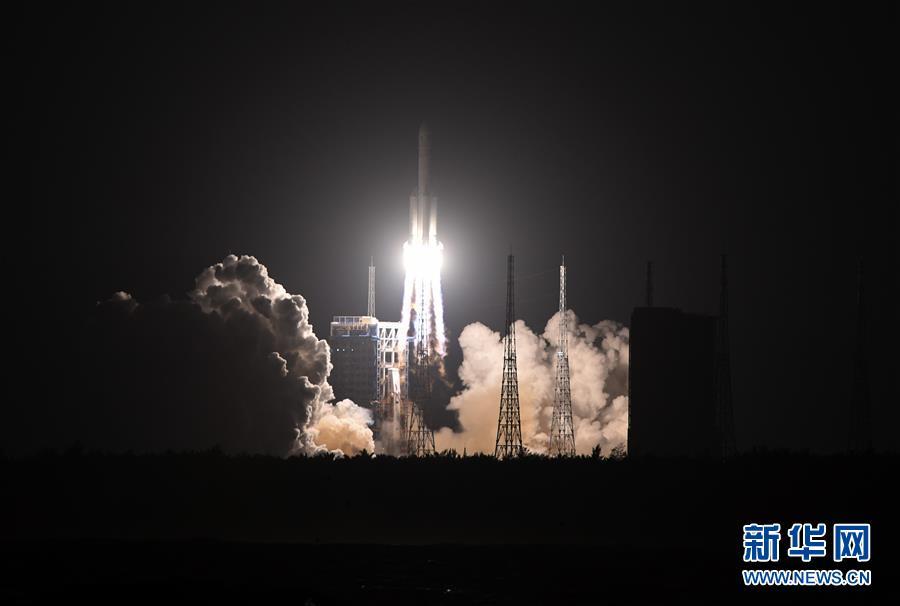 """搬遷 深圳""""胖五""""歸來!長征五號運載火箭成功發射實踐二十號衛星"""