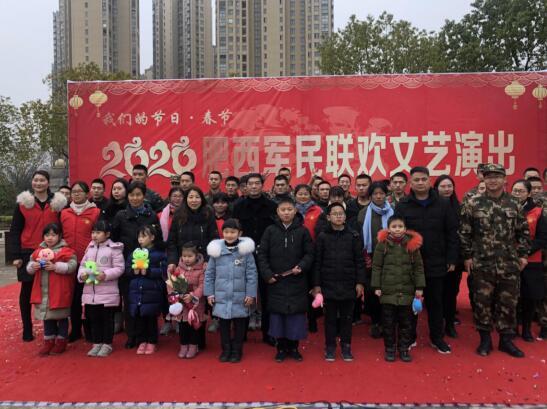 肥西县图书馆:开展肥西军民联欢文艺演出活动
