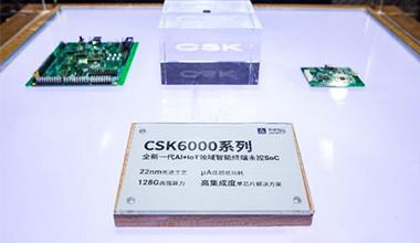 聆(ling)思科技CSK6000系(xi)列(lie)芯(xin)片正(zheng)式�l布
