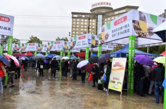 安徽省肥西县举办2020年农产品展销对接暨国家扶贫日系列活动